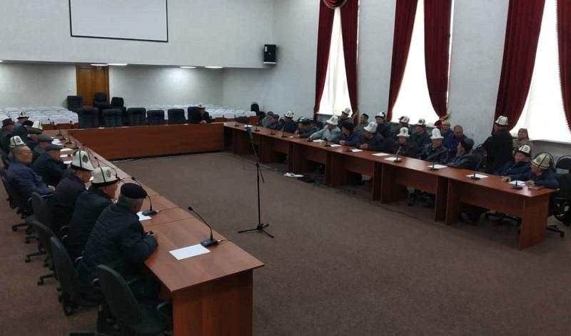 Тоң районунун Ж.Бөкөнбаев айылында ысырапкерчиликти токтотуу боюнча атайын комиссия түзүлдү