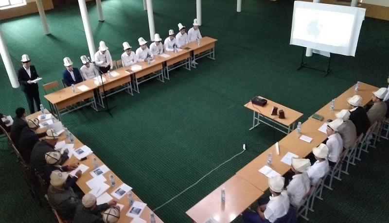 Жалал-Абад облусундагы диний окуу жайлар арасындагы көчмө семинар «Имам Аьзам» медресесинде экинчи жолу уюштурулуп, кемчиликтер жоюлду