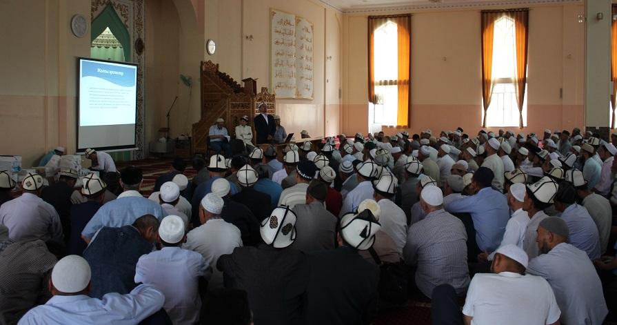 Ош облусундагы имамдарга нике каттоо журналы таратылды