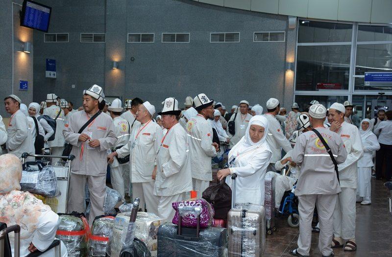 Чүй облусу боюнча 817 адам ажылык парзын аткаруу үчүн Ыйык Мекке жана Медина шаарларына учуп кетишти