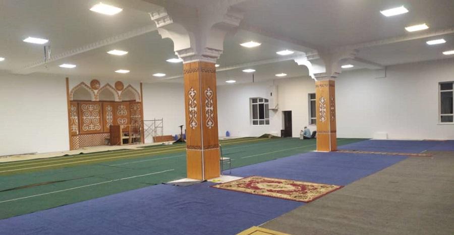 «Ыйман» маданий комплексиндеги мечит оңдоп-түзөөдөн өткөрүлүп, пайдаланууга берилди