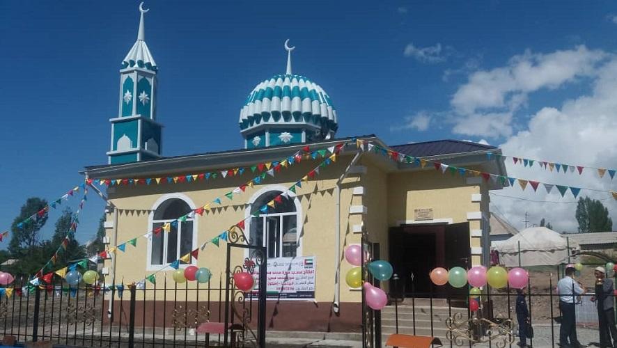 Григорьевка айылында жаңы мечит пайдаланууга берилди