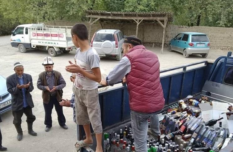 Кадамжайдын Ноогардан айылында спирт ичимдиктери сатылбай турган болду