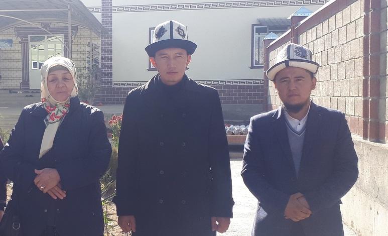 Ноокат районунун «Ат-Тирмизи» медресесинин кыздар бөлүмүндө мавлюд күнү белгиленди