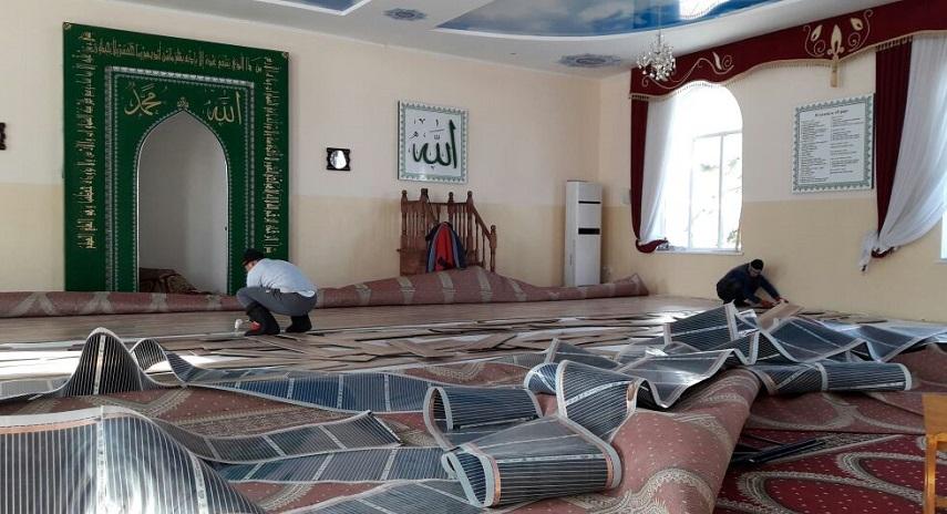 Төрт-Күл айылынын мечитин оңдоп-түзөө иштери жүрүүдө