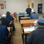 Талас областук казыяты имамдардын билим деңгээлин жогорулатуу максатында семинар өткөрдү