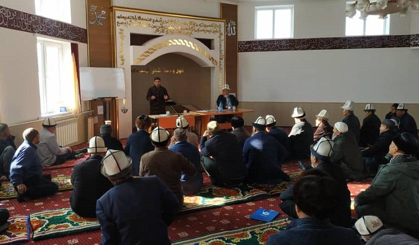 Кара-Буурада имамдардын билим деңгээлин жогорулатуу максатында уюштурулган семинар жыйынтыкталды
