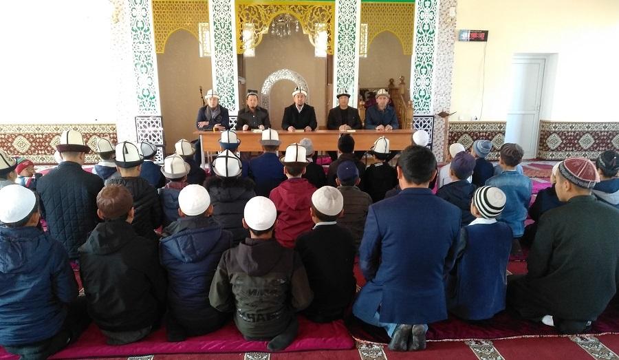 Ноокат районунда Куран жарышы өткөрүлдү