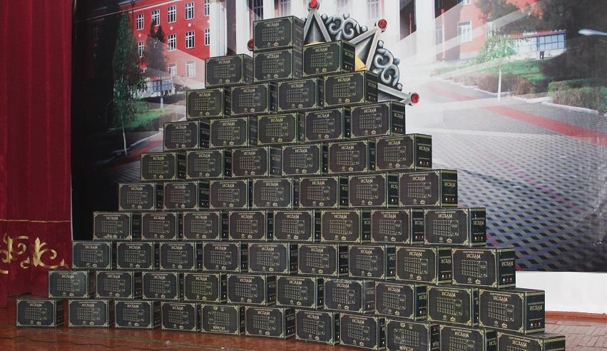 Ош облусунун имамдарына «Хадистердин негизинде Ислам» аттуу 7 томдон турган  450 даана китеп таратылды