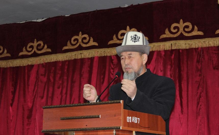 Самидин кары Атабаев: жегиле, ичкиле, бирок ысырап кылбагыла