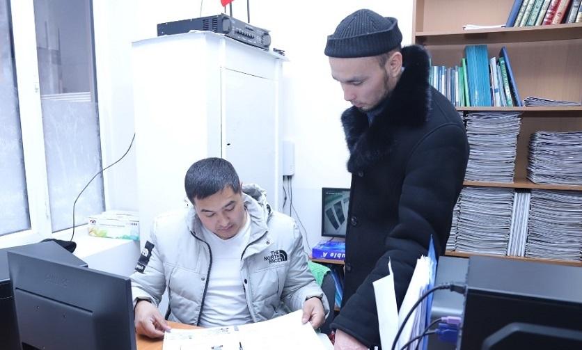 Ажылык-2020: Ош шаарынан ажылыкка катталган жарандардын документтери текшерилди
