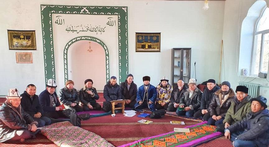 Ысык-Көл районунун баш имам хатиби Максат ажы Сейталиев, алдыда аткарыла турган иштер боюнча имамдарга тапшырма берди