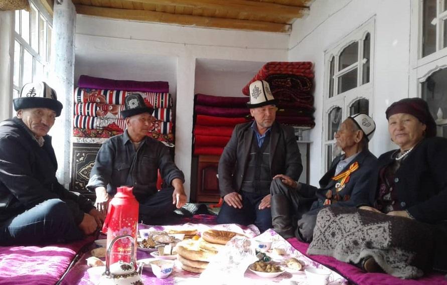 Улуу Ата Мекендик согуштун ардагери Сайдилла ажы Сайдакматов 42 жыл дин кызматын аркалаган