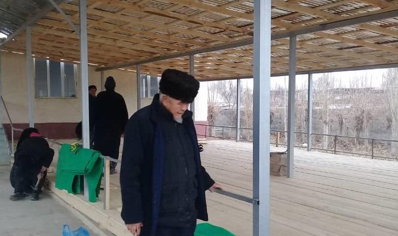 Баткен районундагы «Бужум 1»   мечити кеңейтилүүдө