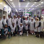 Ош облусунан 24 зыяратчы Умра ибадатын аткаруу үчүн Сауд Араб Падышачылыгына жөнөп кетти