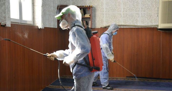 Ысык-Көл облусу боюнча коронавирус илдетин алдын-алуу иштери кызуу жүрүүдө