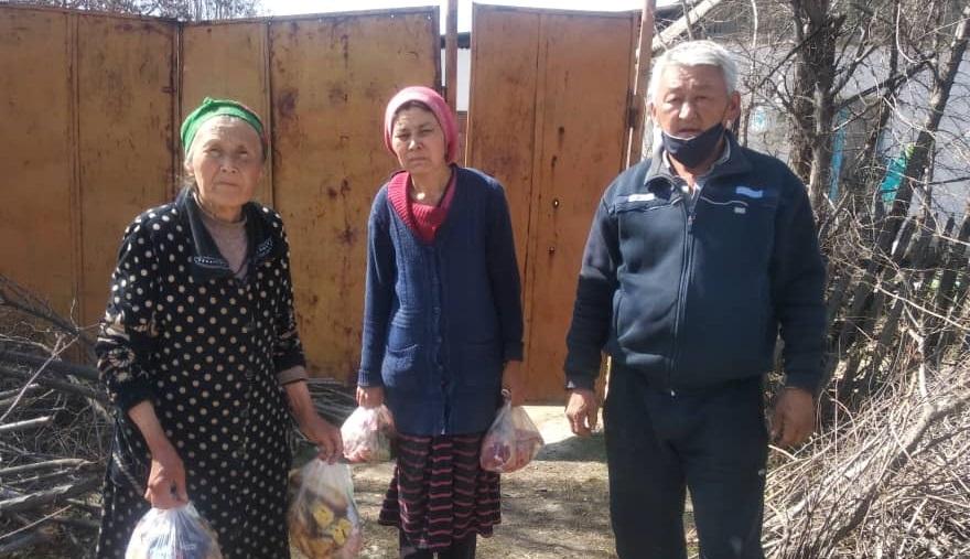 Покровка айылында кыркылык, жылдык токтотулуп, ага кеткен каражат муктаж үй-бүлөлөргө берилди