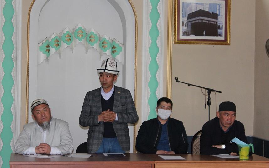 Ош шаарында имамдардын чукул жыйыны болуп өттү