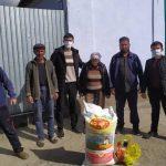Кара – Буура районунун Аманбай айылындагы 16 муктаж үй-бүлөлөргө жардам көрсөтүлдү