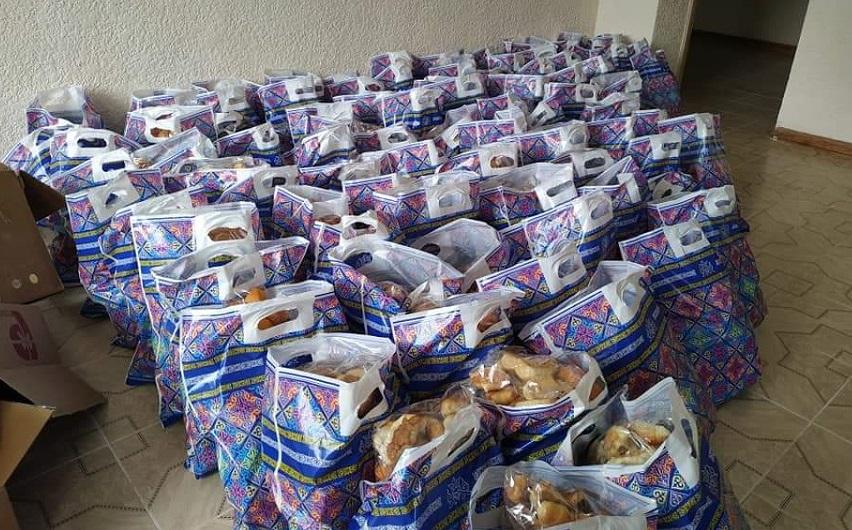 Нарын казыяты тарабынан ыйык рамазан айында 120 үй-бүлөгө ооз ачар баштыктары таратылып берилди