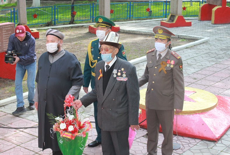 Таласта Улуу Жеңиштин 75 жылдыгы белгиленди