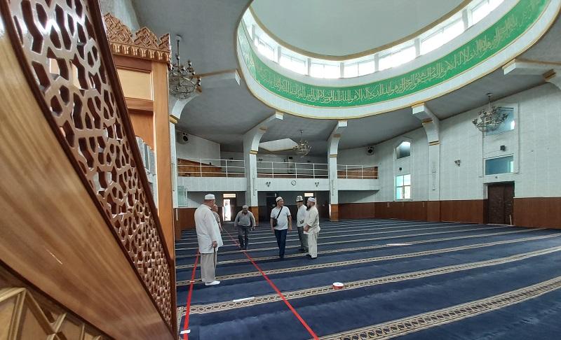 Бишкек шаарынын казысы: Шаардагы бардык мечиттер санитардык талаптарды сактоо менен иш алып барат