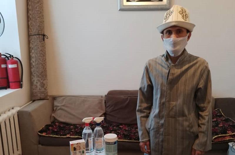 «Бакай ата» мечитинин жамааты санитардык талапты сактоого чакырат