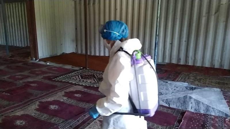 Чүй облусундагы мечиттерде Жума намазына даярдыктар көрүлүүдө