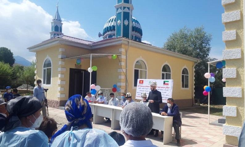 Чоң-Жаргылчак айылында заманбап шарт менен жаңы мечит пайдаланууга берилди