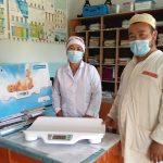 Чаткал районунун Кызыл-Токой айылындагы ФАПка 7 000 сомдук жардам көрсөтүлдү