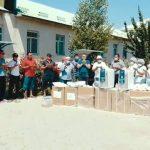 Кара-Суунун Кыргызчек айылындагы үй-бүлөлүк дарыгерлер тобуна 407406 сомдук медициналык каражаттар тапшырылды