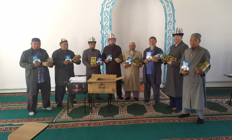 Ак-Талаада көчмө жыйын өткөрүлүп, имамдарга бир катар тапшырмалар берилди