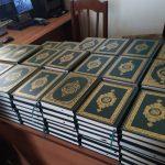 Нарын облусунун имамдарына Муфтият тарабынан берилген Куран китептер тапшырылды