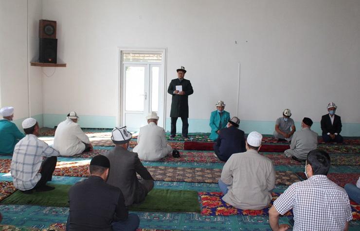 Жалал-Абад шаарынын имамдарына шайлоого карата үгүт иштерине аралашпоосу эскертилди