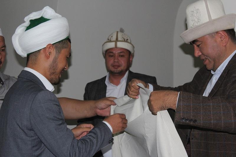 Эркинбек уулу Талгатбек Бишкек шаарынын Свердлов районунун башкы имамынын орун басары болуп дайындалды