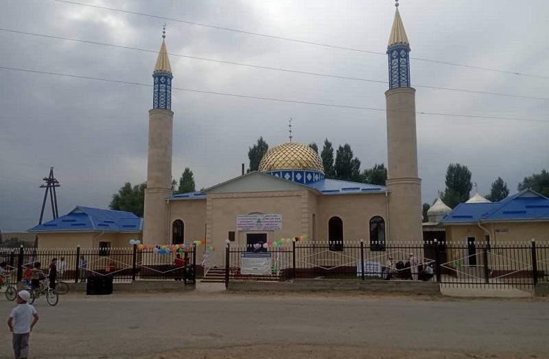 Талас облусунун Кара – Буура районунда жаңы мечит пайдаланууга берилди
