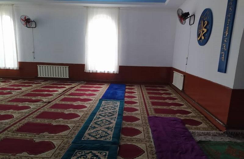 Бишкектеги «Мекке» мечити кышка толугу менен даяр