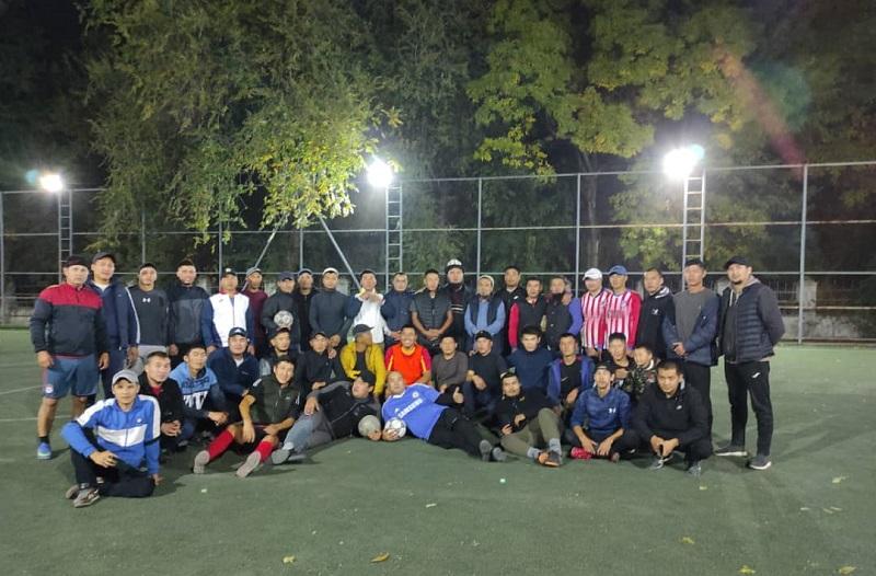Таш-Көмүр шаарында жаштардын ынтымагын бекемдөө максатында футболдук мелдеш өткөрүлдү
