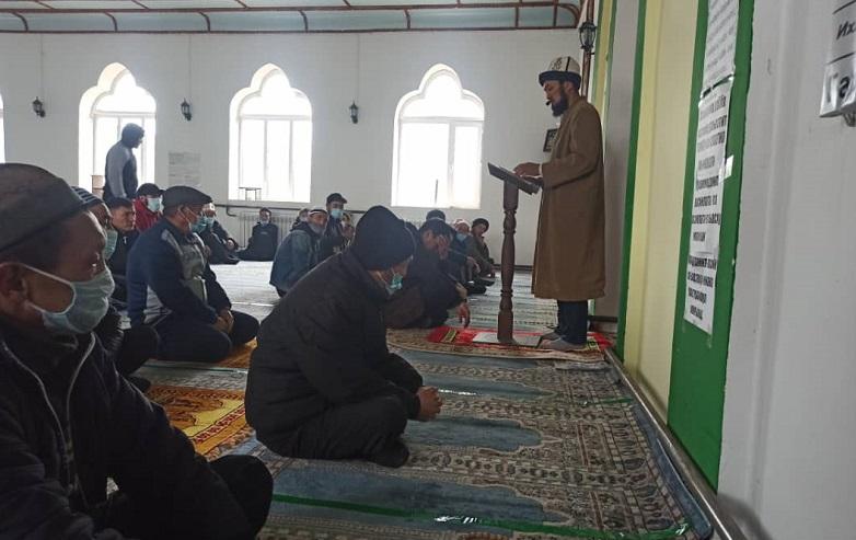 Чүй облусундагы мечиттерде Пайгамбарыбыздын Исламдагы орду жана ага болгон сүйүү турасында жума баяндамалар жасалды