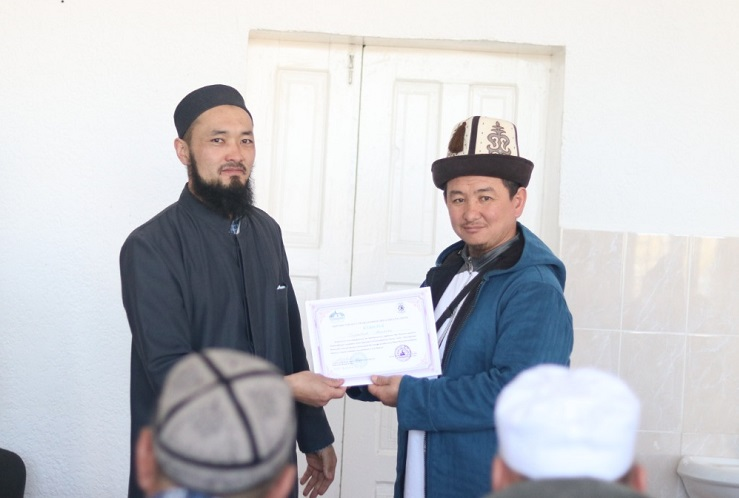 Кемин районунда имамдардын билимин жогорулатууга багытталган 3 күндүк окутуу семинары аяктады