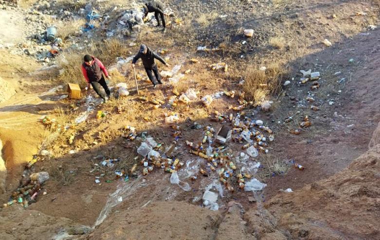Жумгалдын Дыйкан айылында мындан ары спирт ичимдиктери сатылбайт