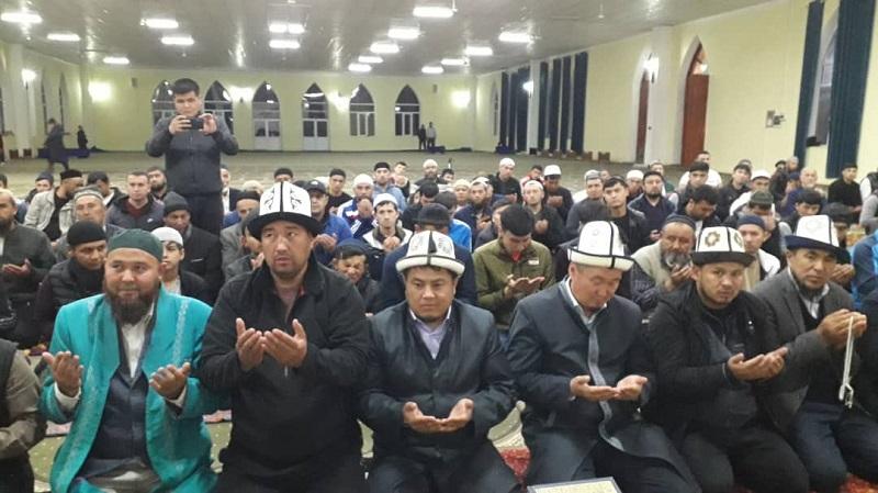 Жалал-Абад облусунун мусулмандар казысы Нематилла Жээнбеков Базар-Коргон районундагы мечиттерге зыярат кылды