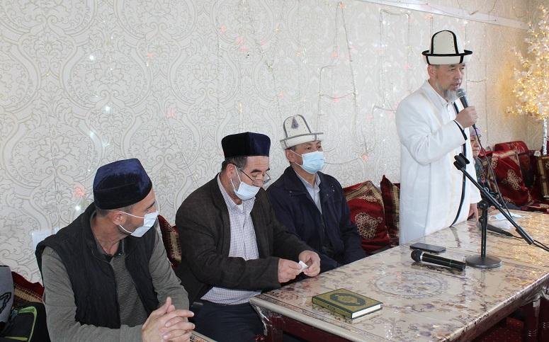 Салиха окуу борборунда маркумдарга багышталып отуз пара Куран окулду