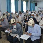 Аалымдар Кеңешинин VII чакырылышынын мүчөлүгүнө катталган 61 талапкер сынак тапшырууда