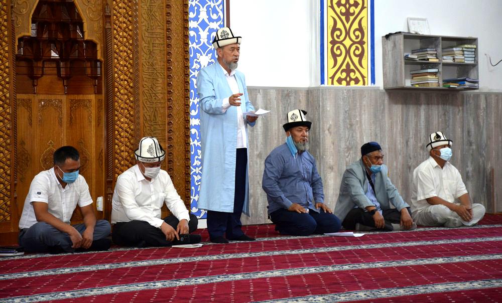 Бишкек шаарынын мусулмандар казысы Самидин кары Атабаев ордо калаанын жалпы имамдарына жыйын өткөрүп, бир катар тапшырмаларды берди