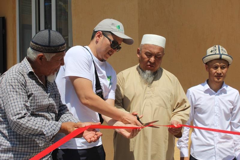 Ош шаарындагы «Аль-Фаарук» мечитинин жанына атайын Куран окуу бөлмөсүнүн ачылышы болду