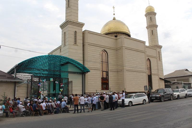 Ош шаарындагы «Усман бин Аффан» мечити кайрадан заманбап түрдө салынды