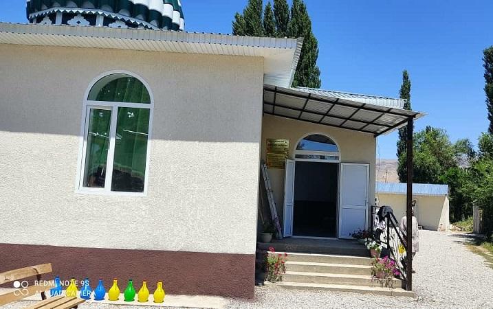Талас районундагы Көк – Токой айылында жаңы мечит ишке берилди