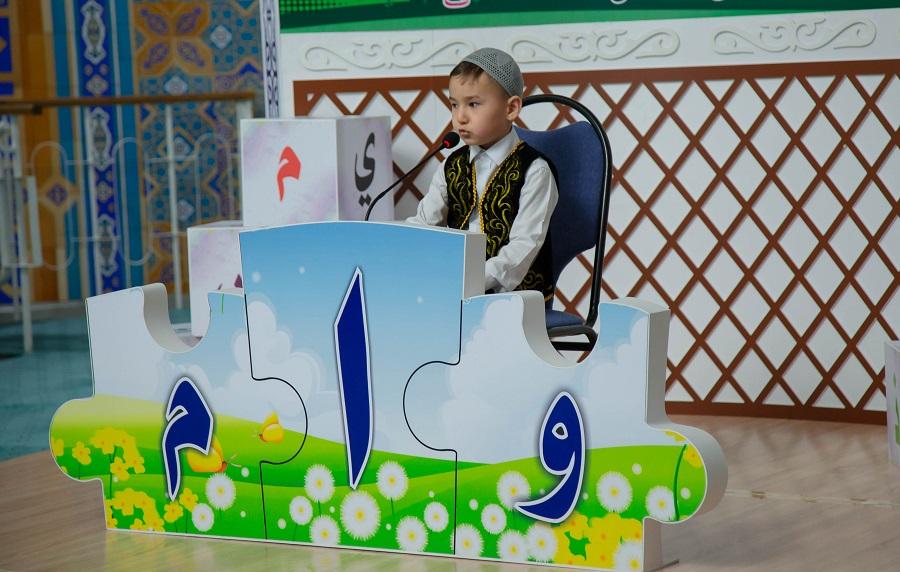 Катыраң айылында 7 жаштан 11 жашка чейинки балдар арасында Куран жарышы өткөрүлдү