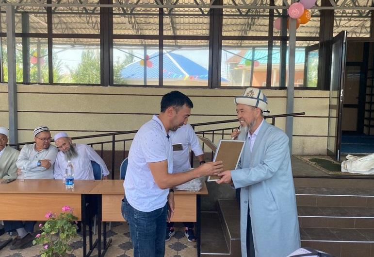 Бишкектеги Калыс Ордо конушунда жаңы мечит пайдаланууга берилди